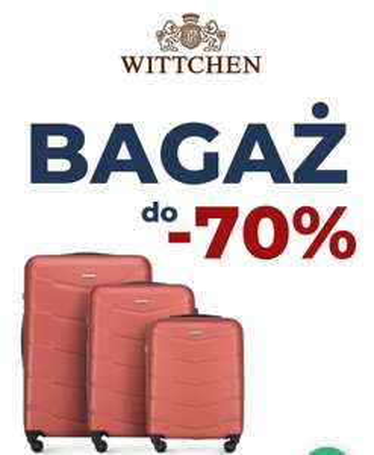 Walizki Wittchen -70%
