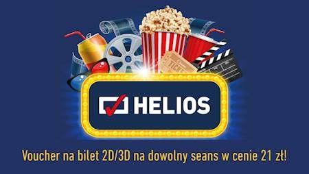 Tańsze bilety do kina Helios