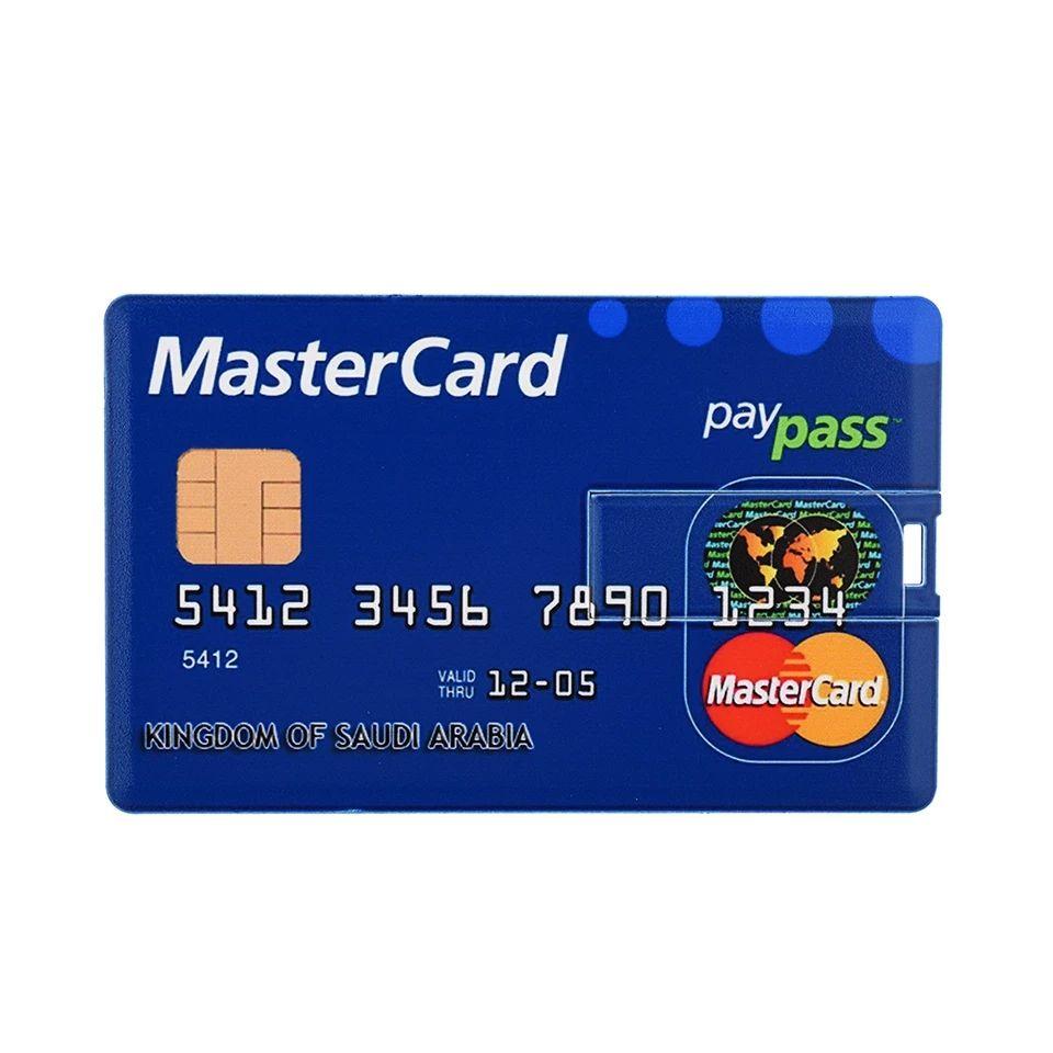 Pendrive 128GB w formie karty płatniczej za 4,13$