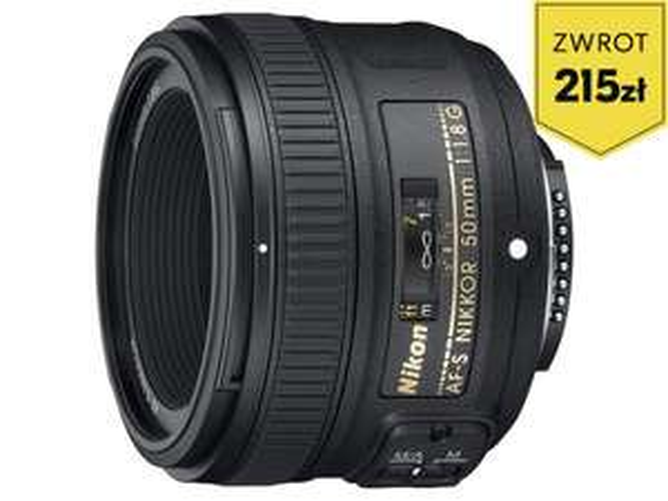 Nikon nikkor obiektyw 50mm 1.8 G AF-S