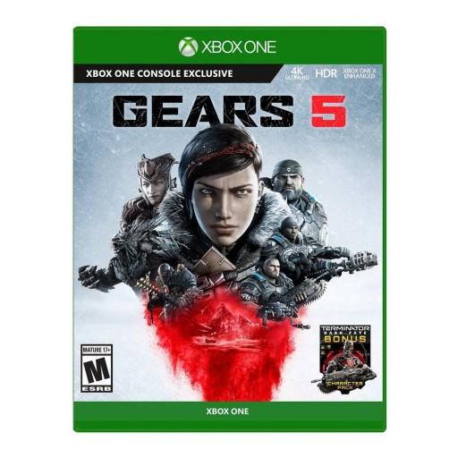 GEARS OF WAR 5 PL + DLC Terminator Dark Fate Xbox One