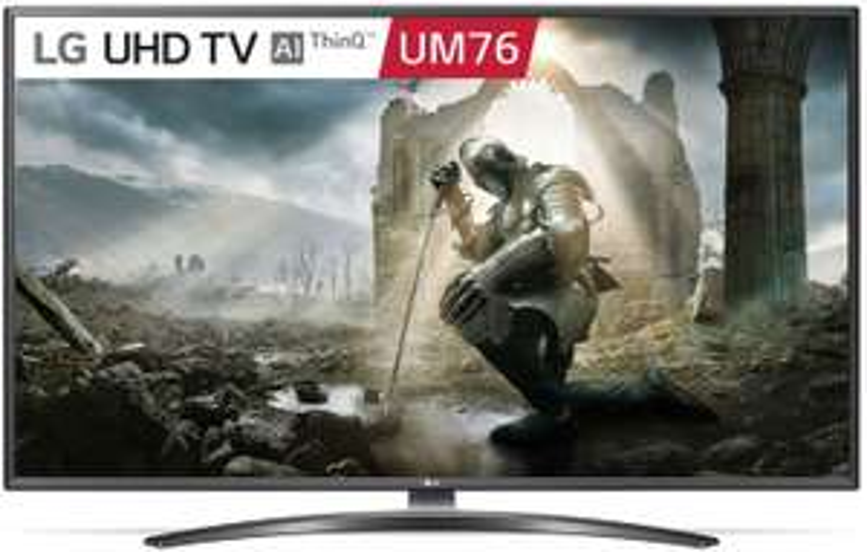 "Telewizor 50"" LG LED 50UM7600, 4K, WiFi, 50Hz, 4rdzenie, 8ms, VA, DirectLed, HDR, 4HDMI, 2USB"