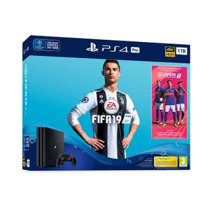Konsola SONY PlayStation 4 Pro 1TB G Chassis Czarna + FIFA 19 + Playstation Plus 14 dni