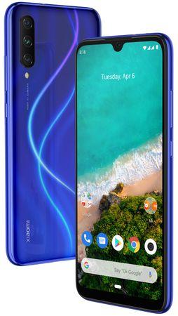 Xiaomi smartfon Mi A3, 4GB/64GB, Not just Blue
