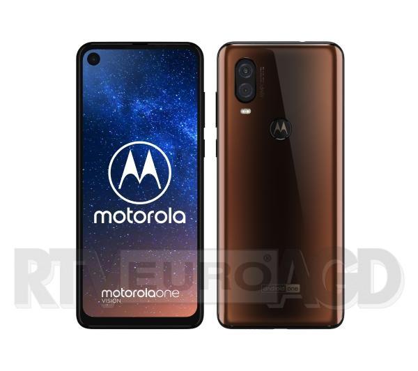 Motorola One Vision 4/128GB DS brązowy / niebieski @ Euro RTV AGD