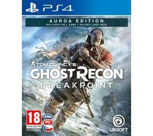 Tom Clancy's Ghost Recon: Breakpoint - Edycja Auroa PS4 RTV Euro AGD