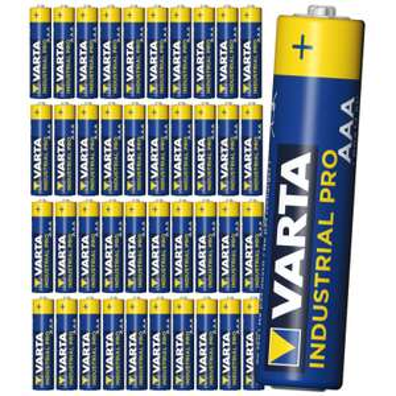 Baterie alkaliczne 40szt Varta Industrial AAA LR03 (a wersja LR6 za 38,22 zł), @wellsamed
