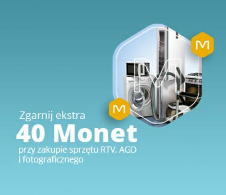 +40 Monetza zakupy od 600 zł w kategoriach RTV i AGD, Fotografia
