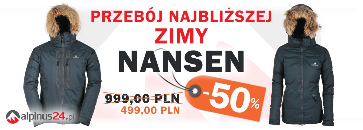 MEGA WYPRZEDAŻ do -60% (polar - 159 zł, kurtka puchowa - 499 zł) @ Alpinus24.pl