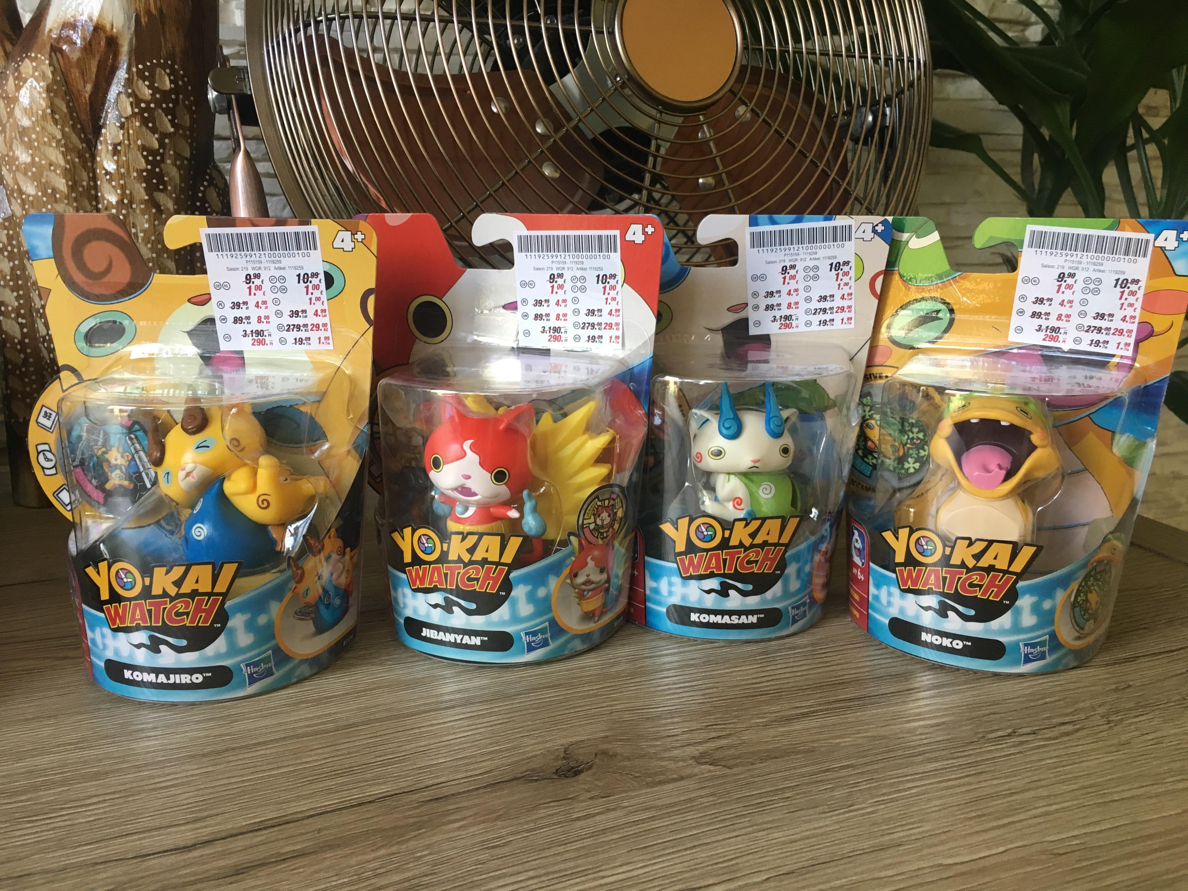 Figurki Yo-Kai watch   KiK