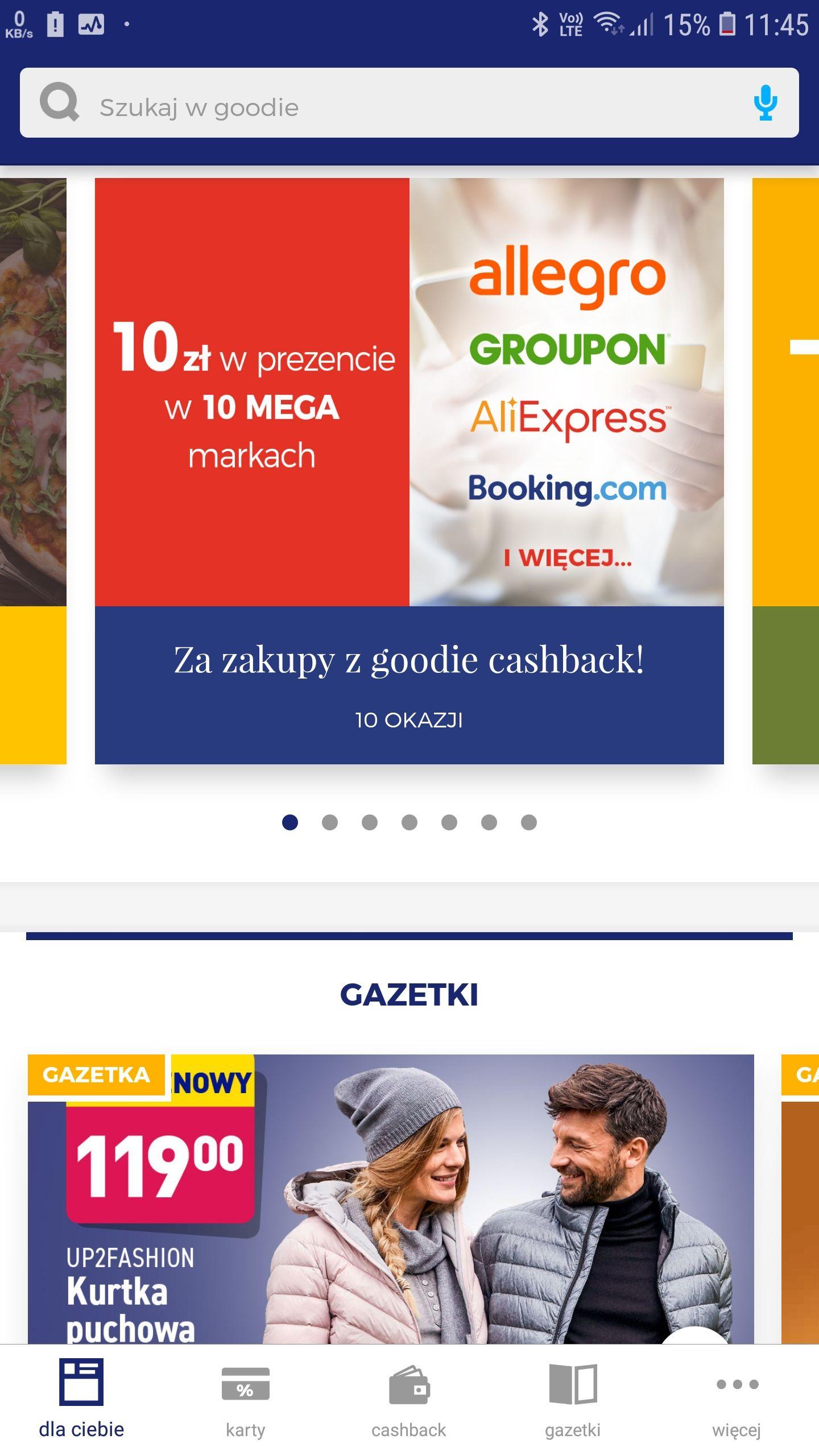 10zł za zakupy na Allegro, AliExpress, Pyszne.pl i w 7 innych sklepach