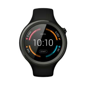Lenovo Moto 360 Sport (Android Wear, 4GB ROM, 512MB RAM, pulsometr...) @Amazon.fr