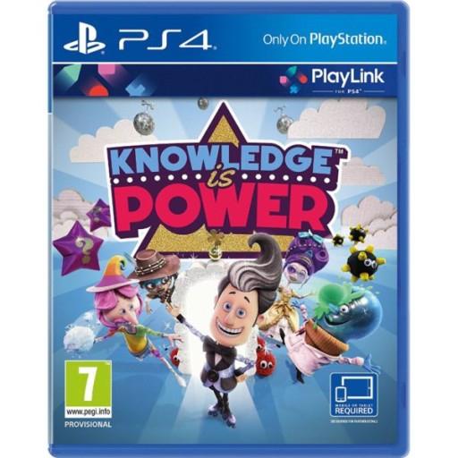 PS4 KNOWLEDGE IS POWER / WIEDZA TO POTĘGA