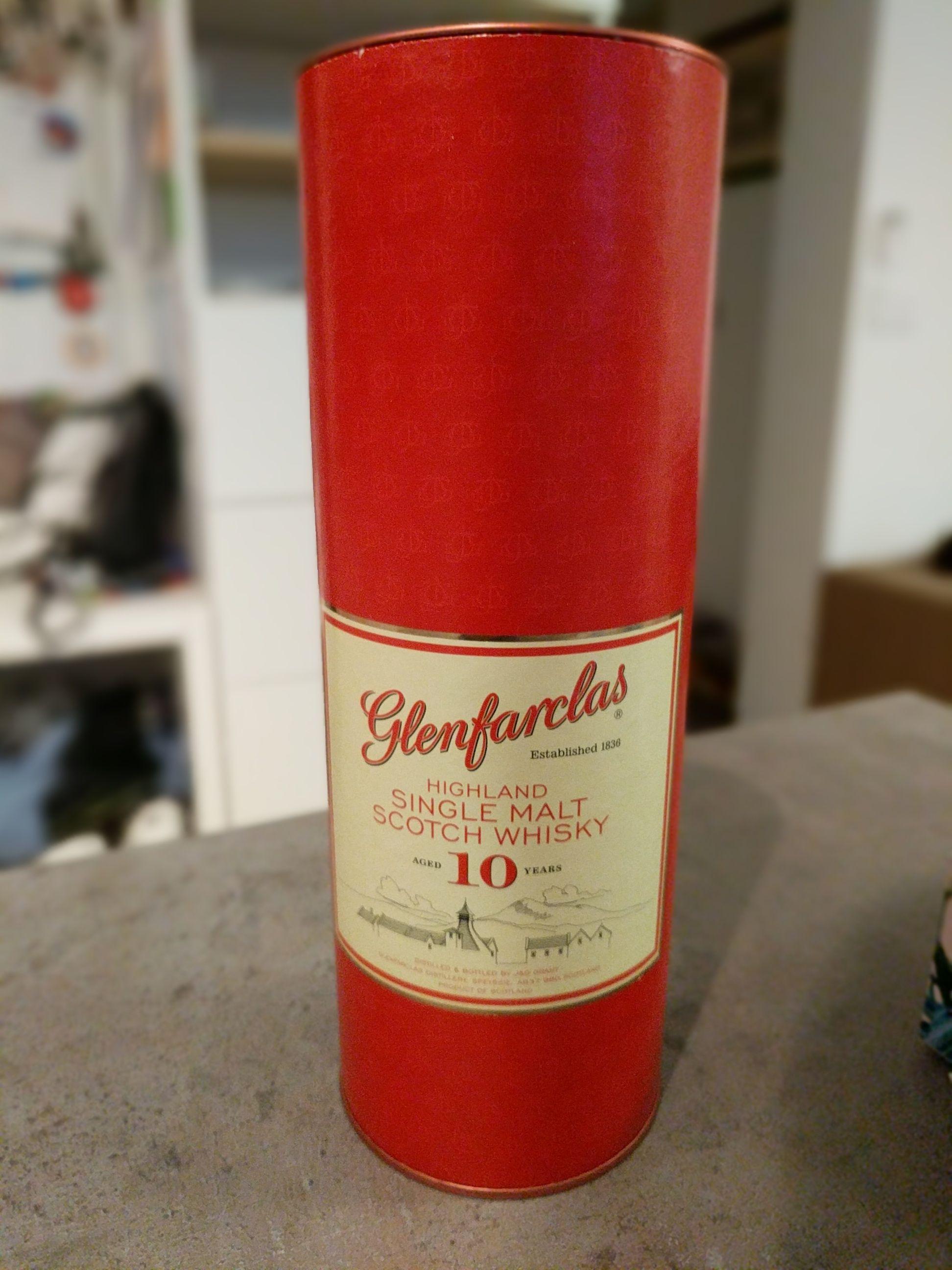 Single malt Whisky Glenfarclas 10yo 0,7l - Aldi