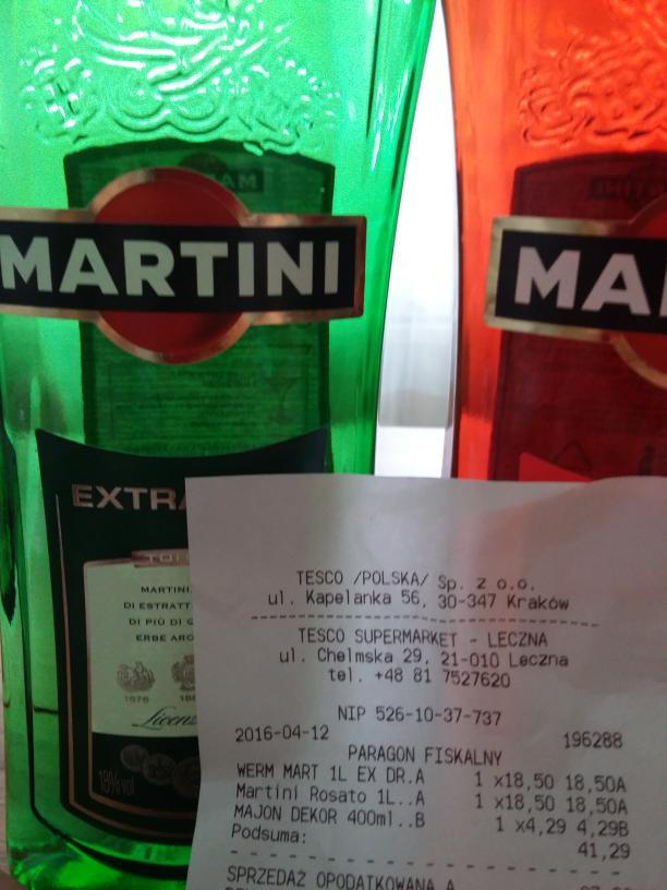 Martini 1 L @ Tesco