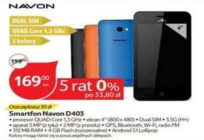 smartfon Navon D403 @ Tesco
