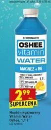 Oshee Vitamin Water Magnez+B6. Duża butelka 1,1l