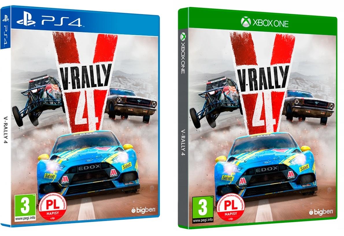 V-rally 4 PS4 i Xone PL