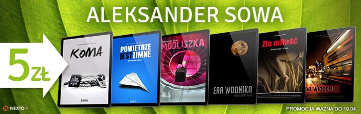 E-booki Aleksandra Sowy 5zł @ Nexto