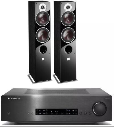 Wzmacniacz Cambridge Audio CXA60 + kolumny Dali ZENSOR 7