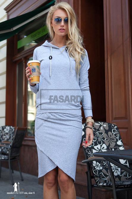 Dresowy zestaw - bluza + spódnica za 57zł @ Fasardi