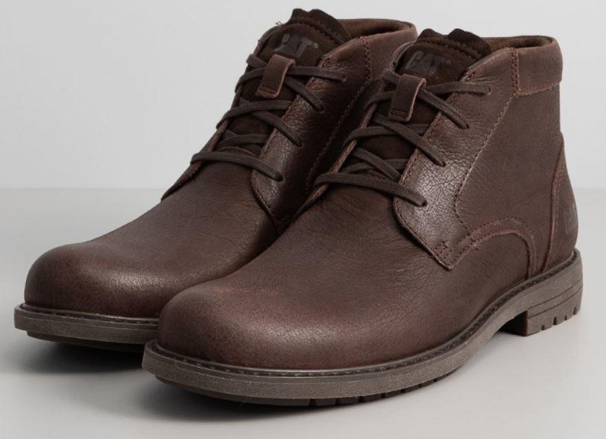 CATERPILLAR - skórzane buty męskie