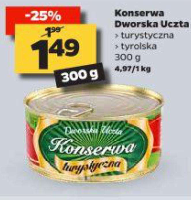Netto konserwa 300g za 1,49 zł
