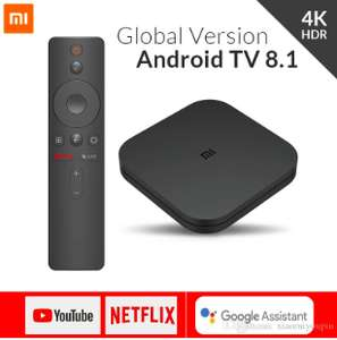 Xiaomi Mi TV BOX S (4K, smart TV, Netflix, Amazon Prime, HBO) @DHgate