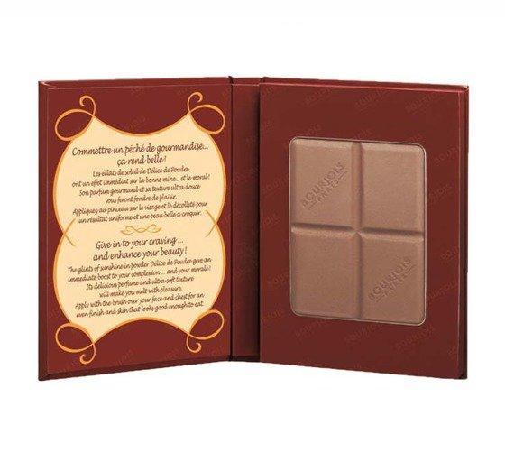 Słynny bronzer marki Bourjois w kształcie czekolady