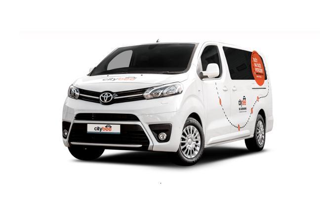 Kupon 20 zł na pierwszy przejazd Toyotą Proace w CityBee