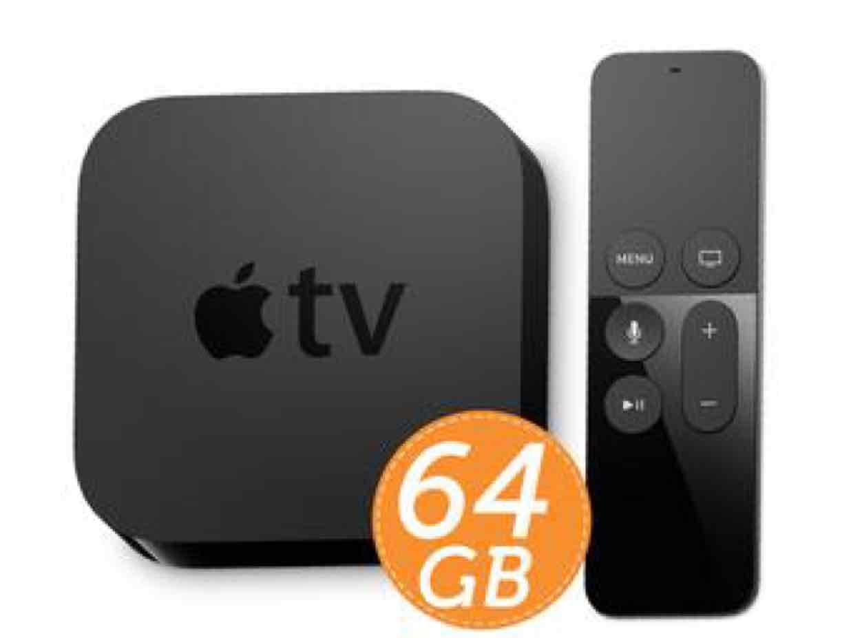 Apple TV (4Gen) 64GB w cenie 32GB