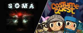 Costume Quest oraz Soma za darmo @ Epic Games Store od 31.10