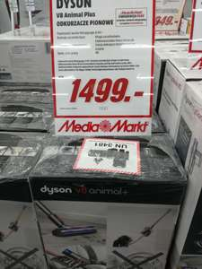 Dyson v8 animal + Media Markt M1 Poznań