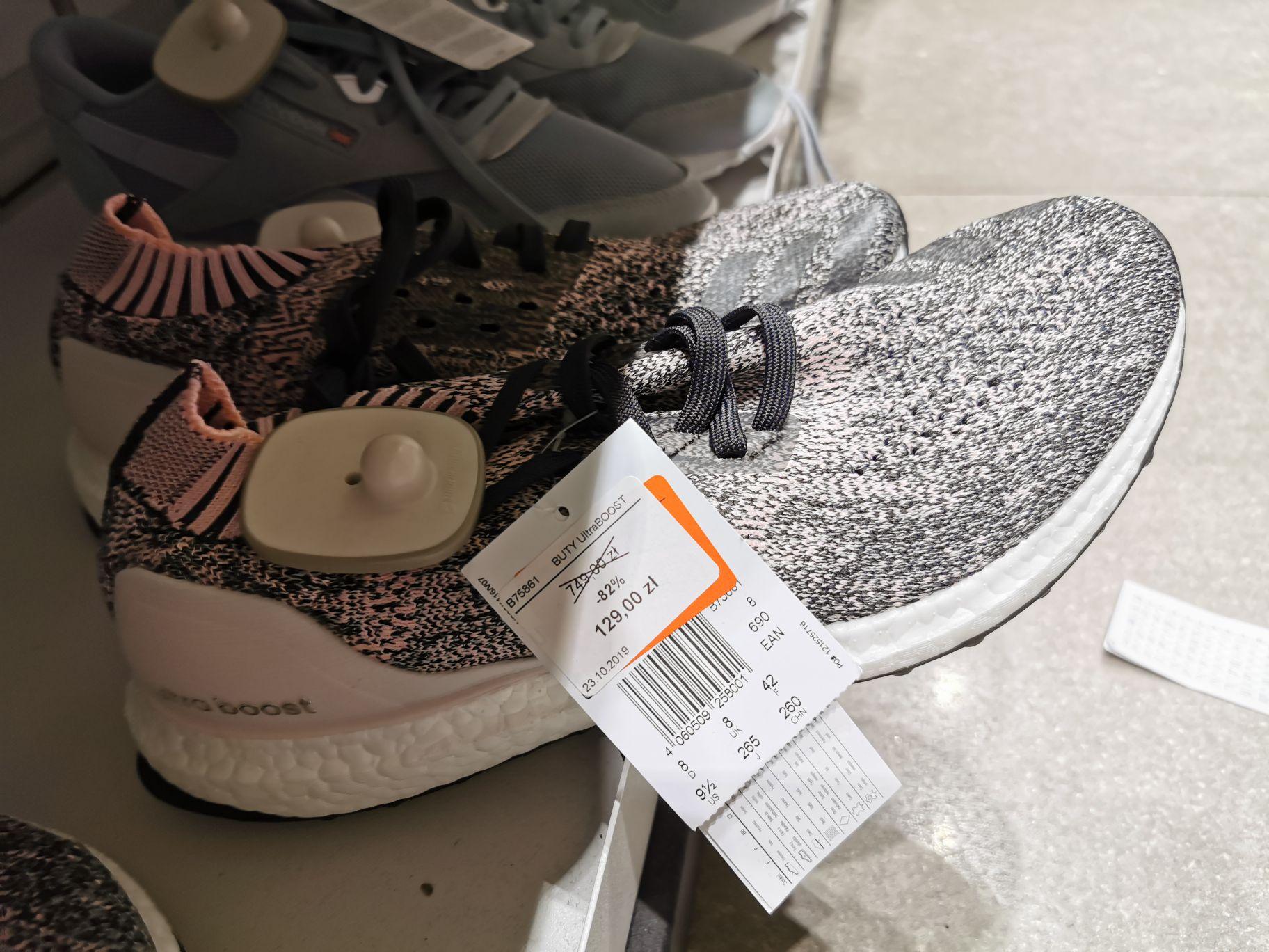 Factory Poznań wielkie przeceny w ADIDAS OUTLET - buty Boost Ultraboost nawet za 129zł!