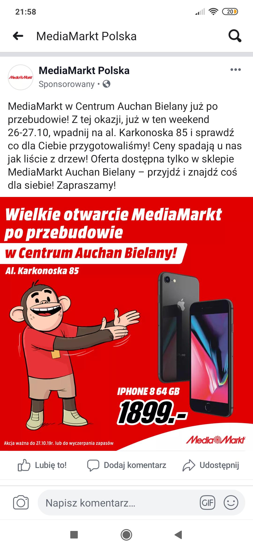 Apple iPhone 8 64 GB media markt