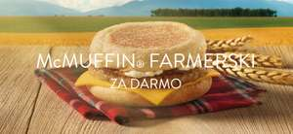 Darmowy McMuffin Farmerski @ Mcdonalds