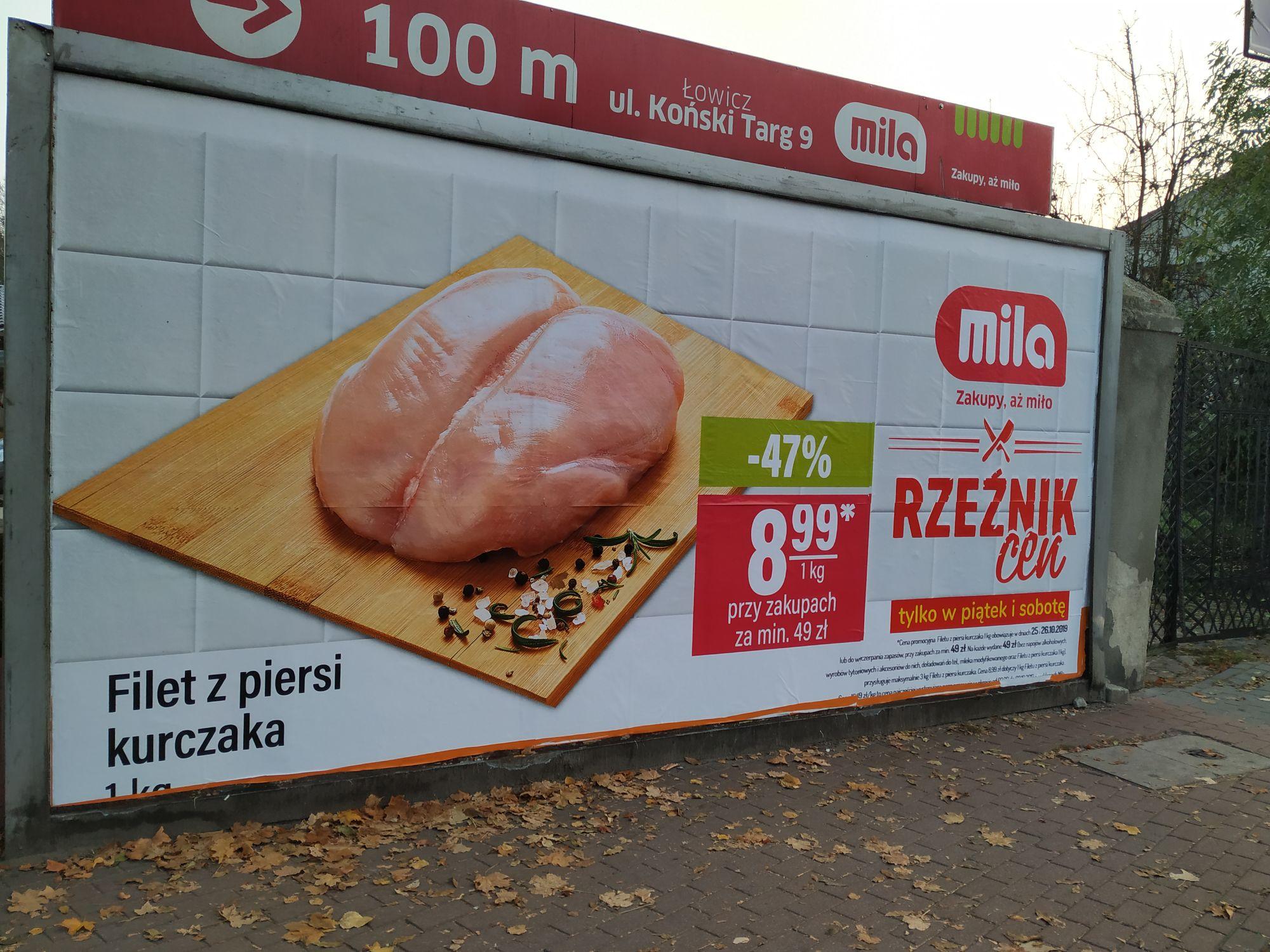 Filet z piersi kurczaka - Mila