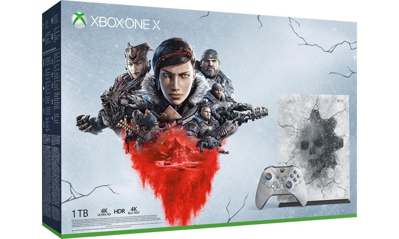 Microsoft Xbox One X 1TB Limited Ed. + GoW 5 + CoD Modern Warfare w x-kom.pl