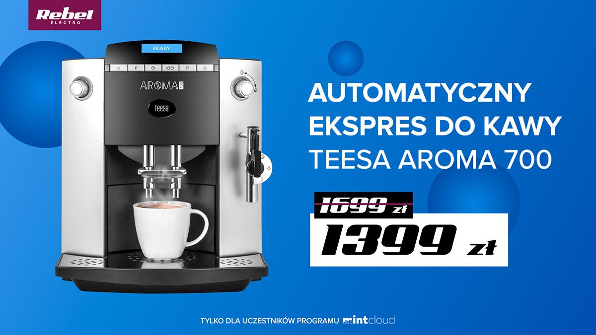 Automatyczny ekspres do kawy TEESA AROMA 700 (JURA F50)