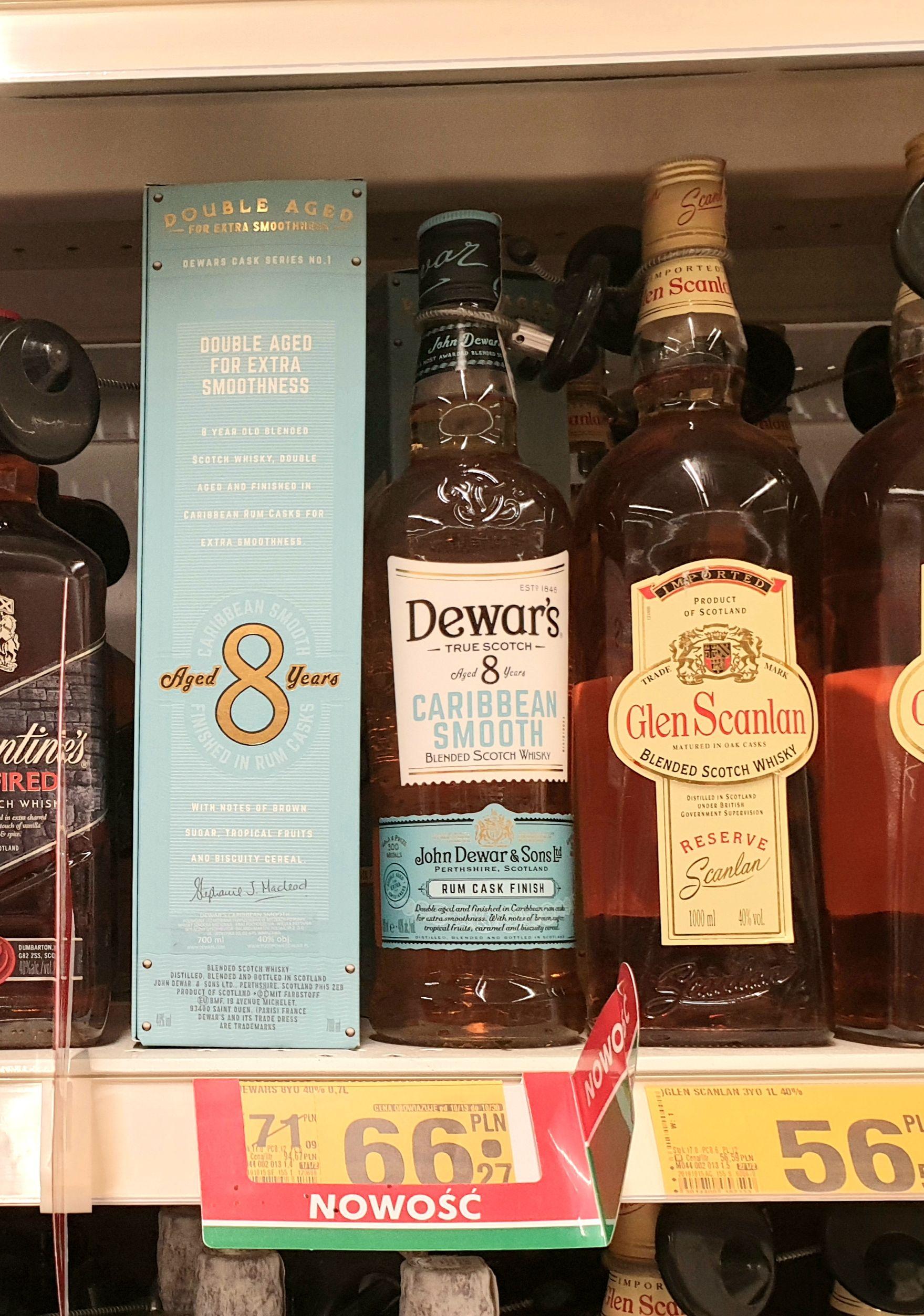 Whisky Dewar's 8YO 0.7 - Auchan