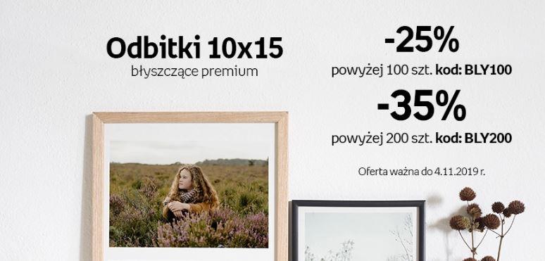 Odbitki cyfrowe błyszczące premium 10x15 -35% empik