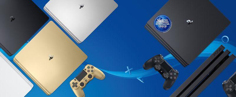 Konsola SONY PlayStation 4 1 TB + Fifa 20 + 2 pady