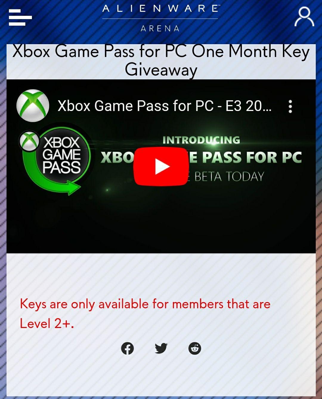 Kod na darmowe 2 miesiące Xbox Gamepass na PC