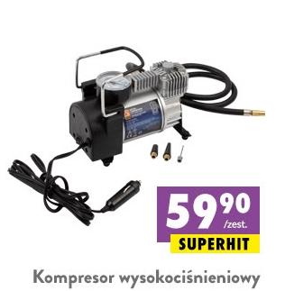 Kompresor wysokociśnieniowy - samochodowy 12V @Biedronka