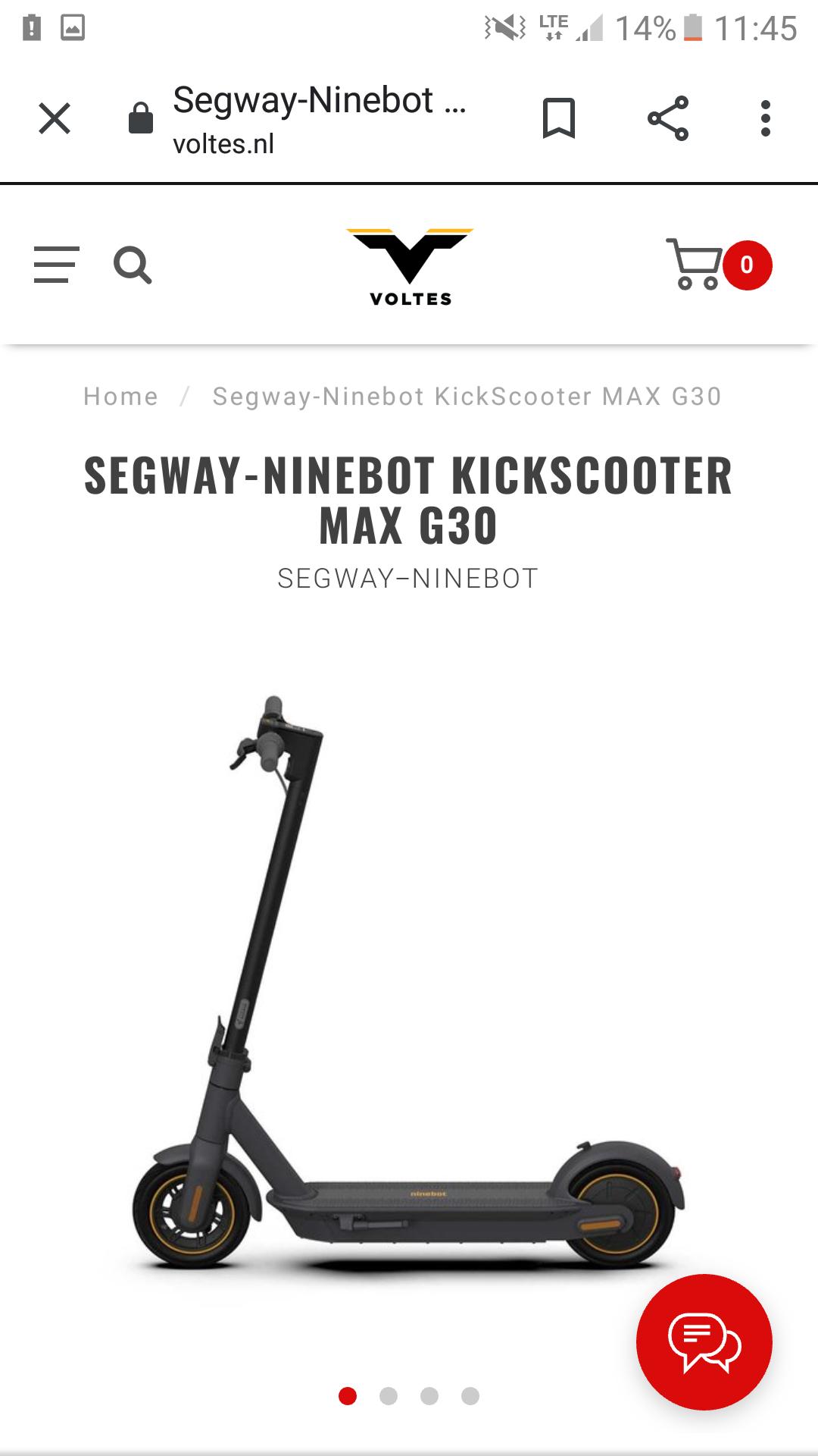 Hulajnoga Segway Ninebot Max