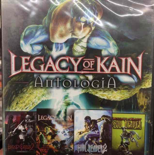 Legacy of kain: Antologia. 4czesci gry 9,90zl carrefour