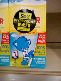 -50% mleko Nestle Junior wszystkie rodzaje @ Intermarche
