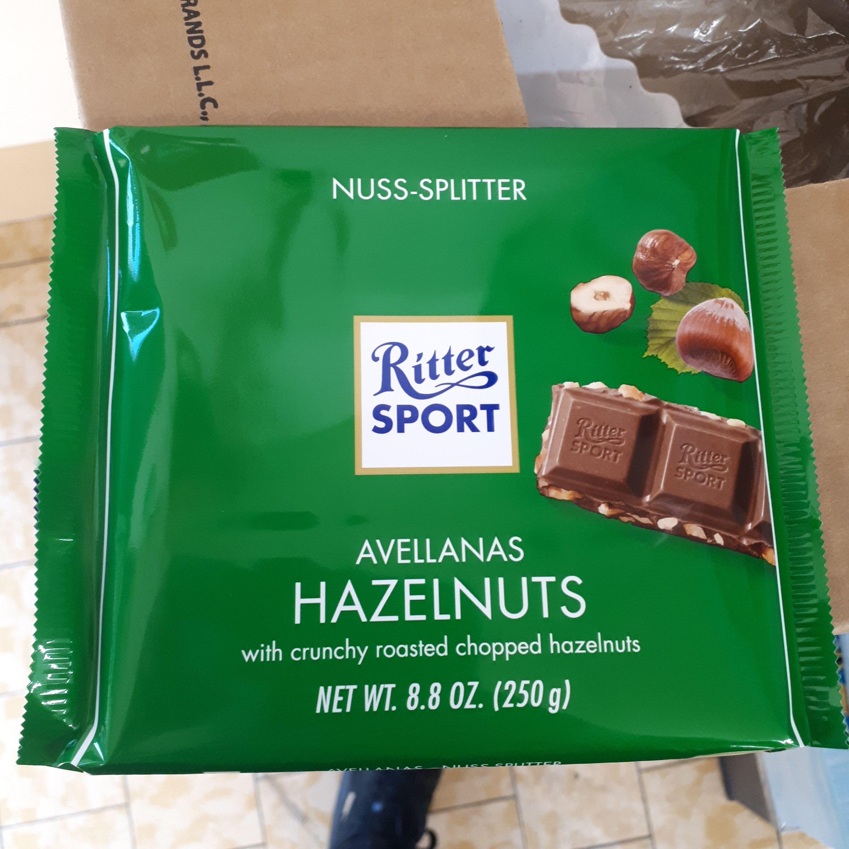 Duża czekolada Ritter sport 250g @Lidl