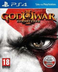 God of War III Remastered za 59,99zł @ gram.pl