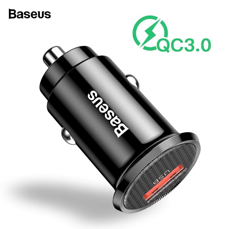 Ładowarka samochodowa Baseus QC 3.0 szybka sprawdzona
